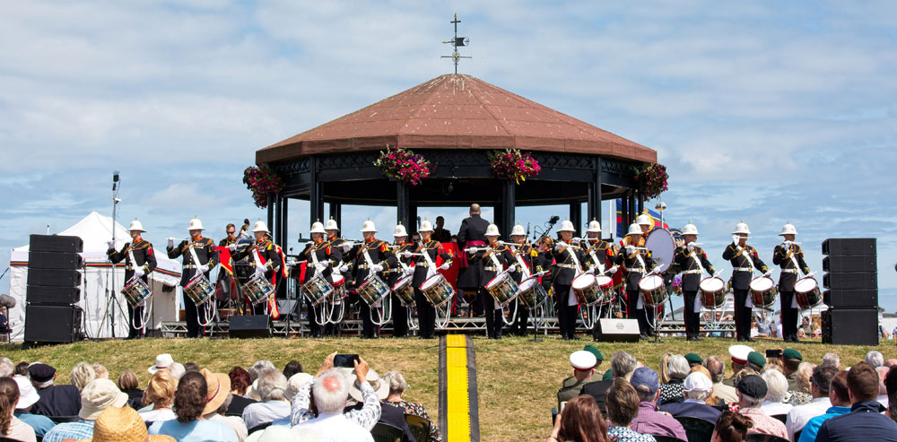 Royal Marines musicians remember Deal Bombing 30 years on