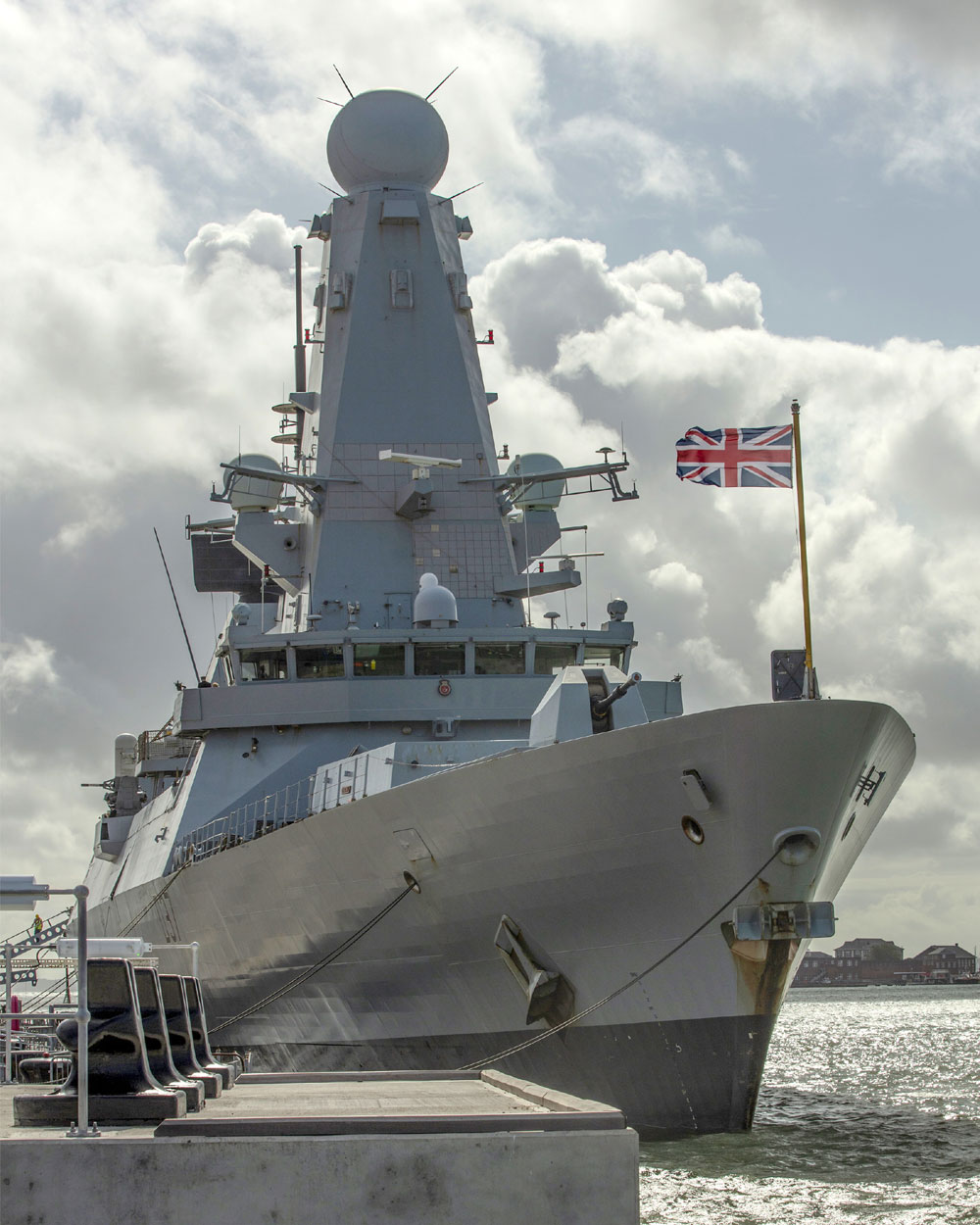 HMS Duncan home to Portsmouth