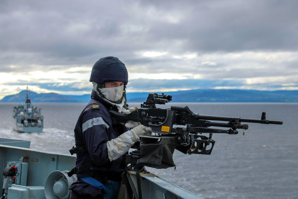 Joint Warrior exercise faced swarms of attacks from fast boats