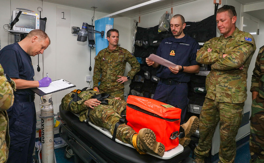 Royal Navy ships and divers join major minehunt in Middle East