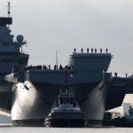 HMS Queen Elizabeth carrier strike group returns home from jet trials