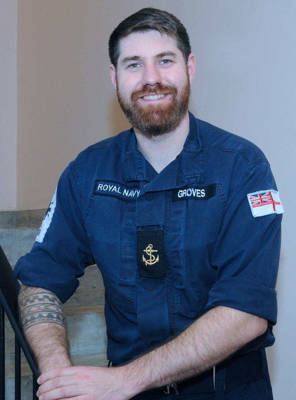 Leading Seaman David Groves