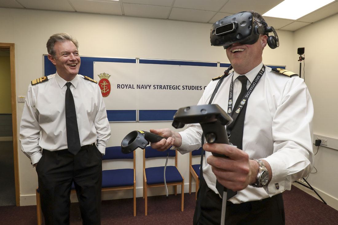Royal Navy sets up Brains Trust