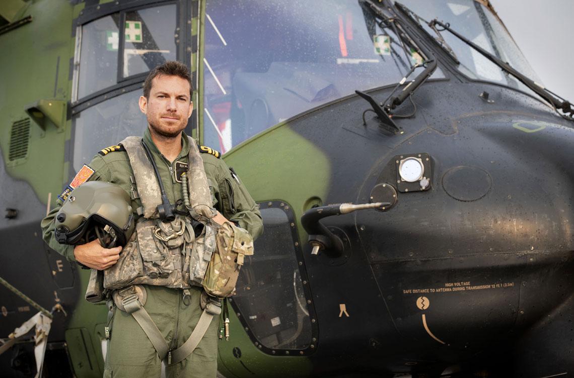 Lieutenant Commander Nick Grimmer