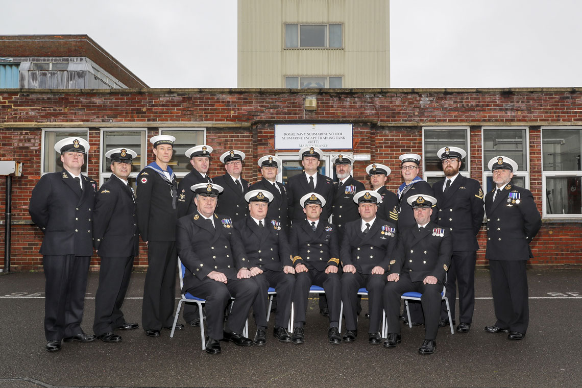 End of era for Gosport's iconic submarine escape tower