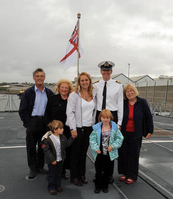 Devonport Warship HMS Montrose