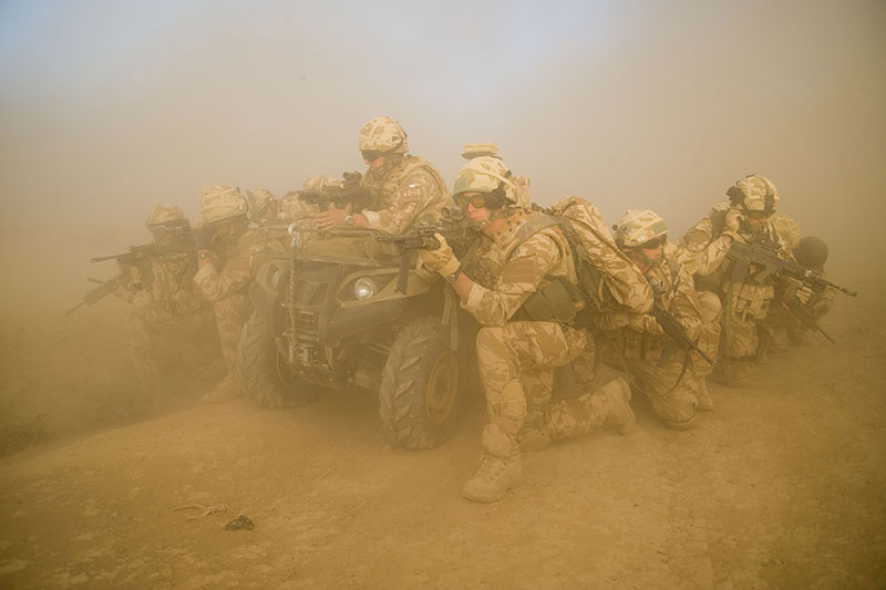 42 Commando Royal Marines in Afghanistan