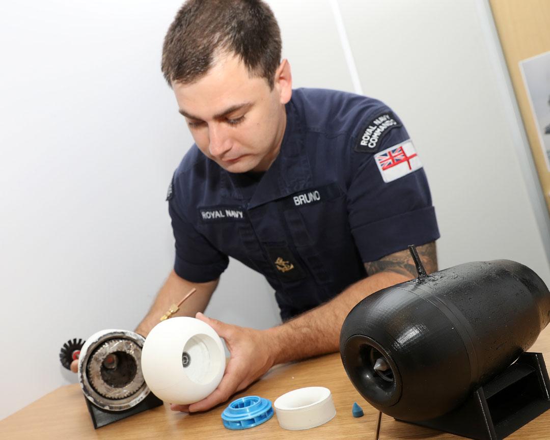 Royal Navy trainee marine engineer Ryan Bruno builds DIY jet engine at home