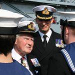 HMS Chatham's crew celebrates her 21st birthday