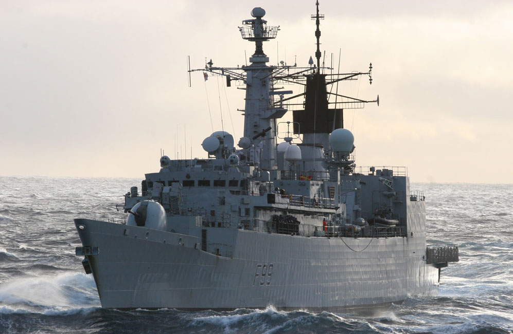 HMS Cornwall has sailed on counter-piracy operations