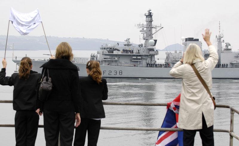 HMS Northumberland