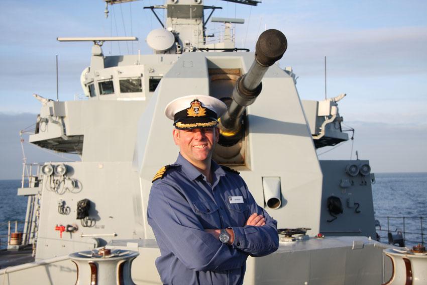 Commander John Payne