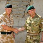 Lt Col Nick Kitson and Lt Col Paul James