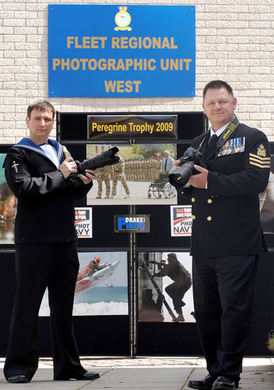 Royal Naval photographers