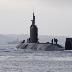 Royal Navy submarine HMS Triumph sails after major update