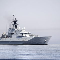 Royal Navy monitor heightened Russian activity