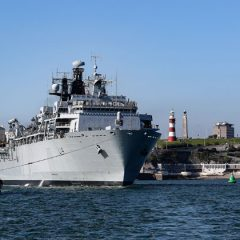 HMS Albion leads UK task group
