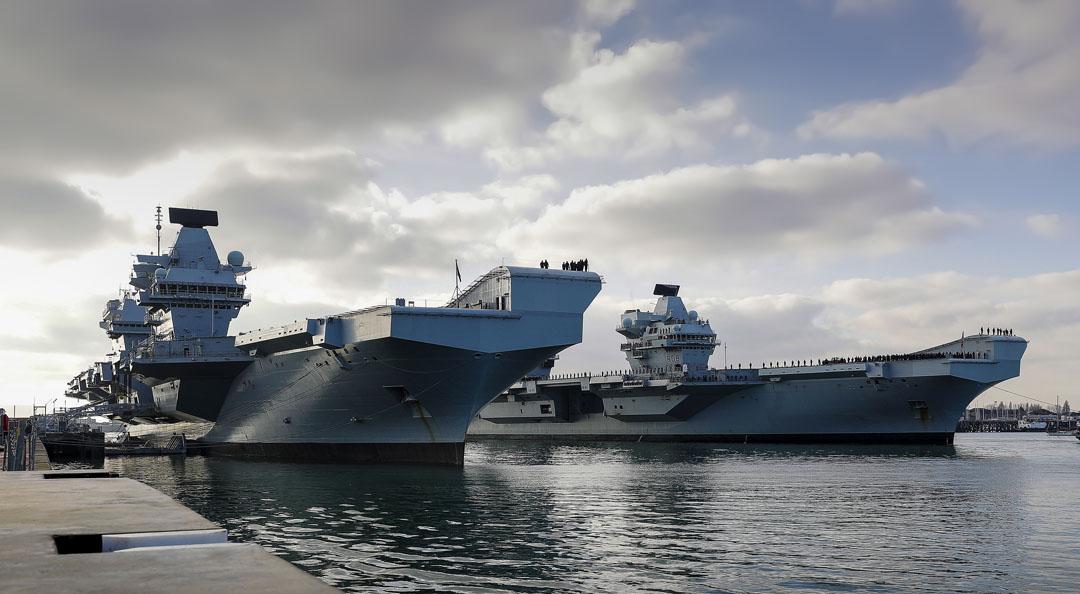 HMS Queen Elizabeth and HMS Prince of Wales