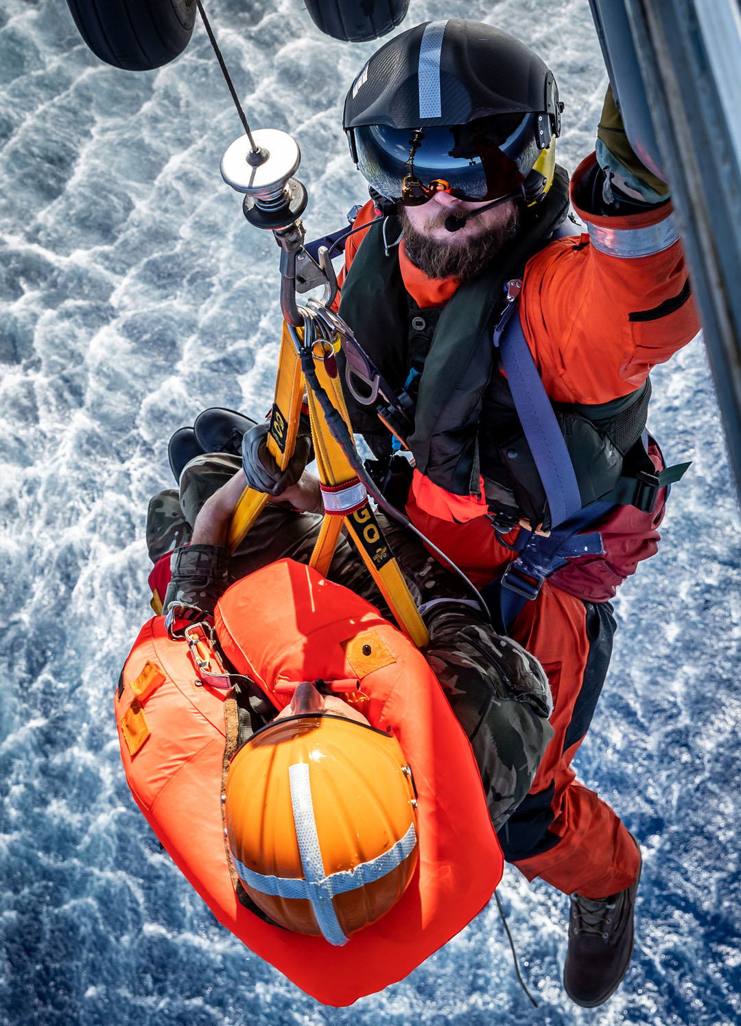 845 NAS conduct a Search and Rescue exercise