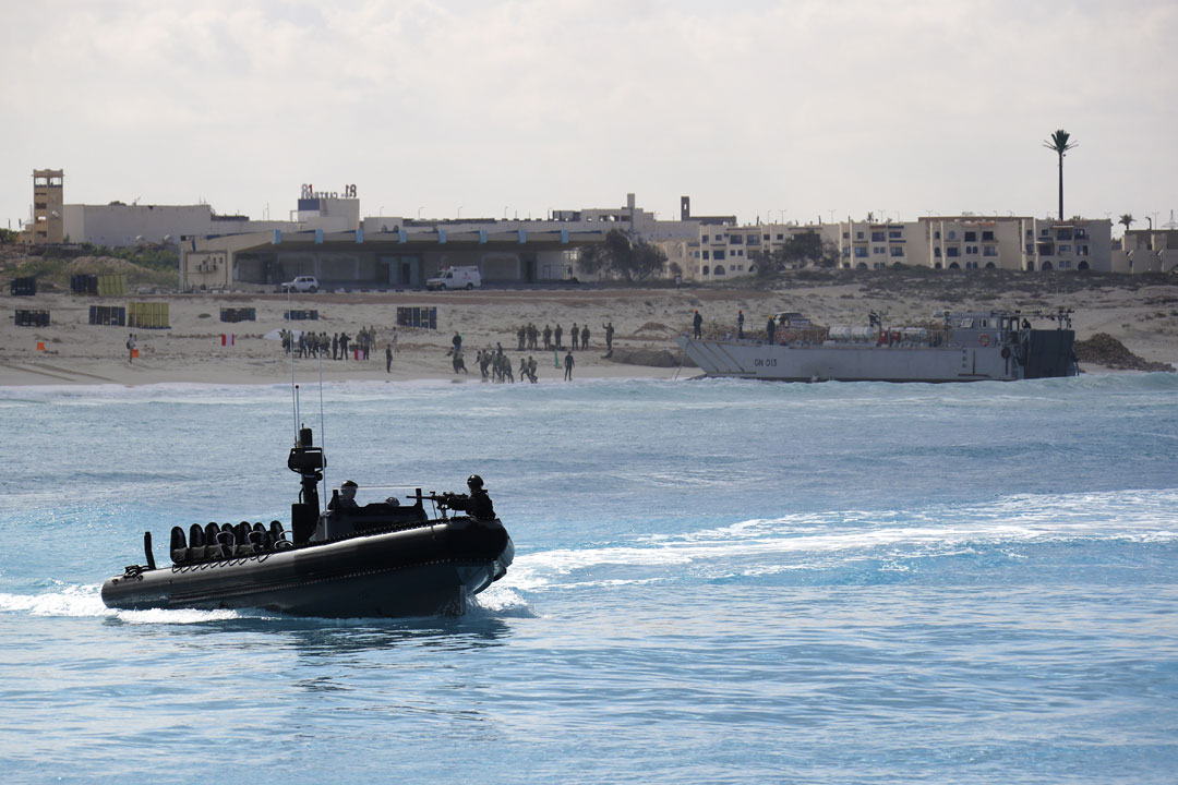Royal and Egyptian Navies showcase amphibious forces