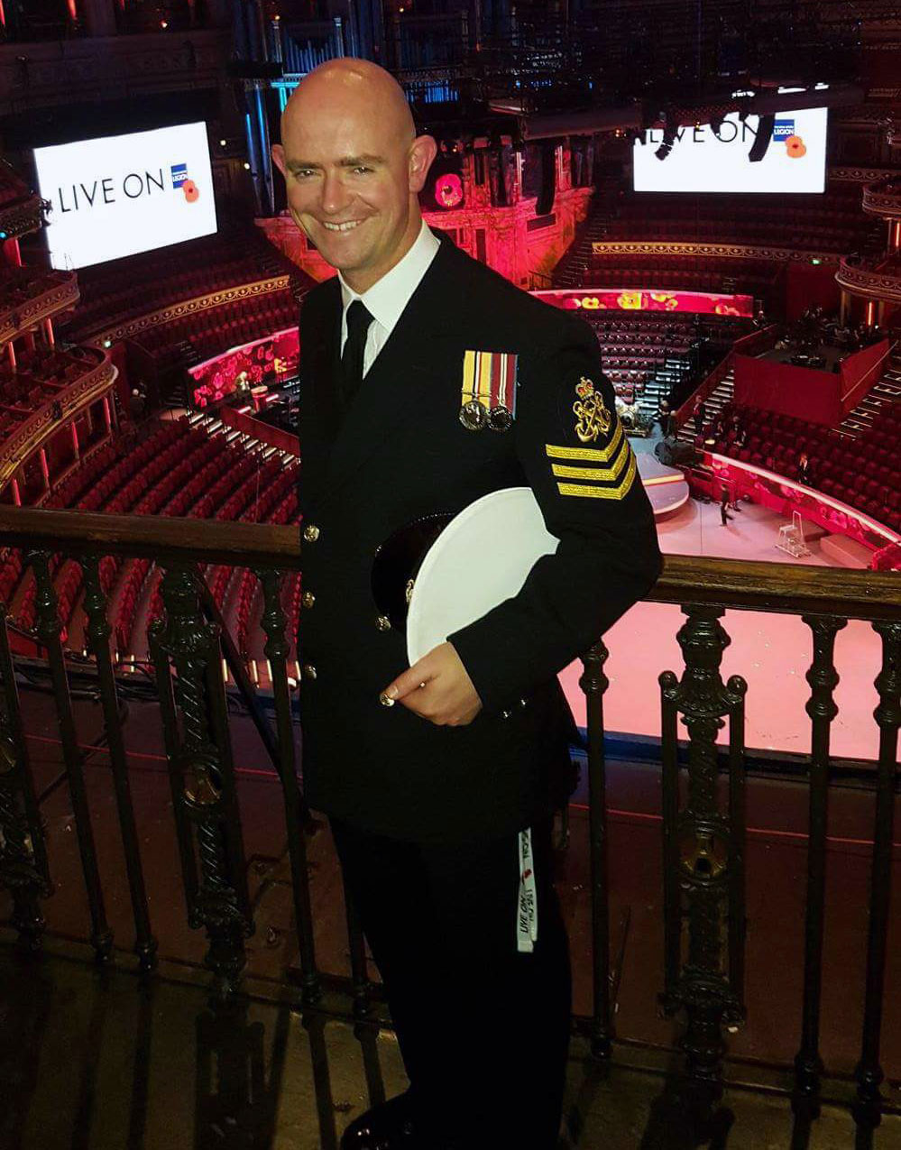 Chief Petty Officer Andrew Cooper