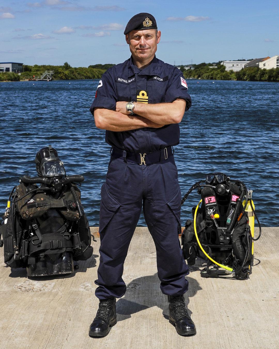 Lieutenant Commander Sean Heaton
