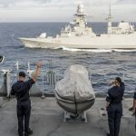 UK task group links up with Italian carrier in last act of autumn deployment