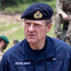 Vice Admiral Ben Key in New Year's Honours list