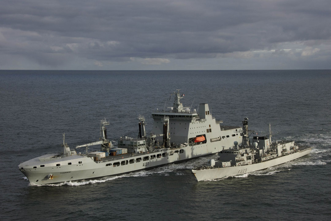 Royal Navy leads international task force on Baltic mission