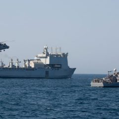 Royal Navy hones Gulf security skills in key exercise
