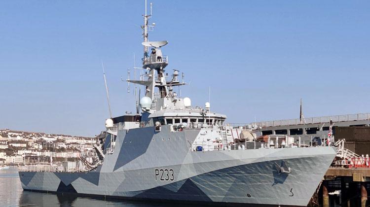 HMS Tamar