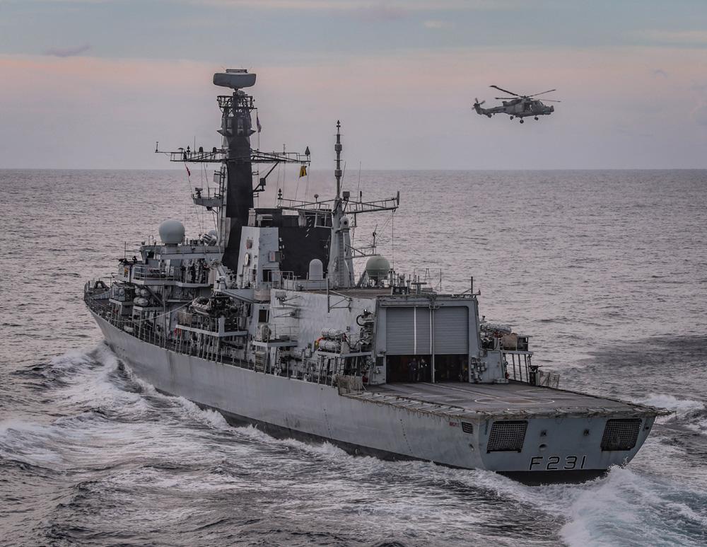Formidable Shield 21 HMS Argyll