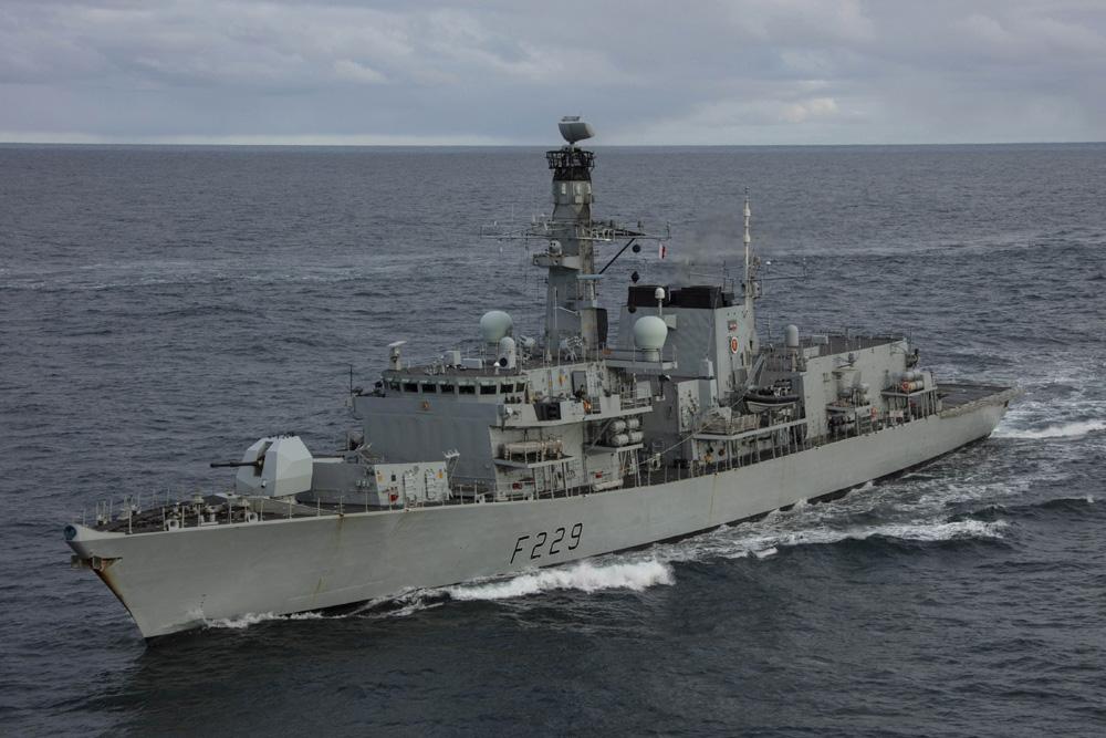 Formidable Shield 21 HMS Lancaster