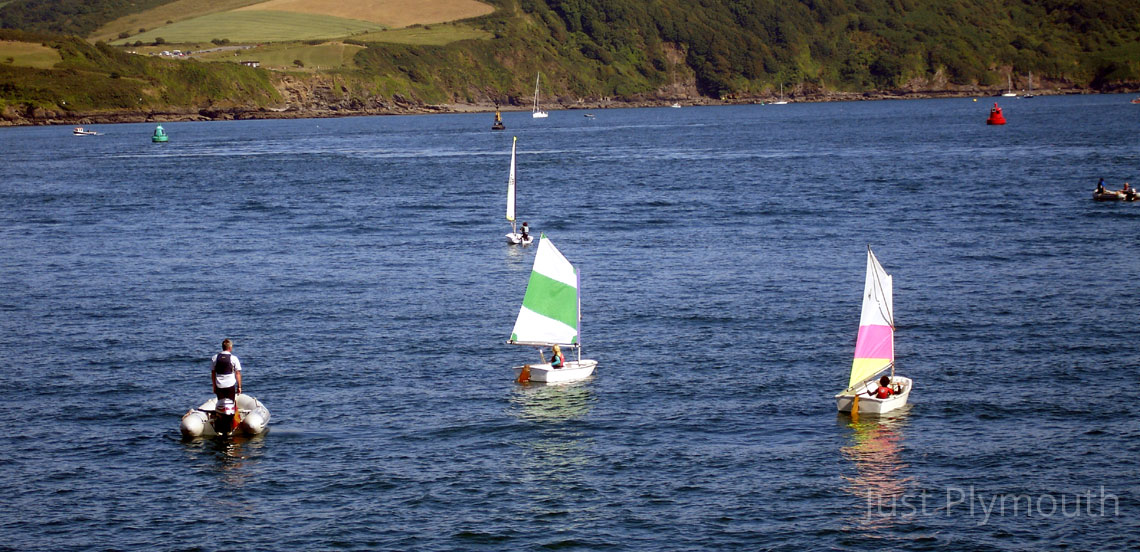 Plymouth Sound sailing lessons