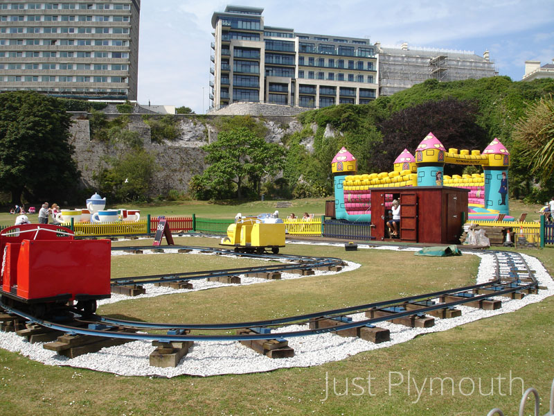 Plymouth west Hoe play area