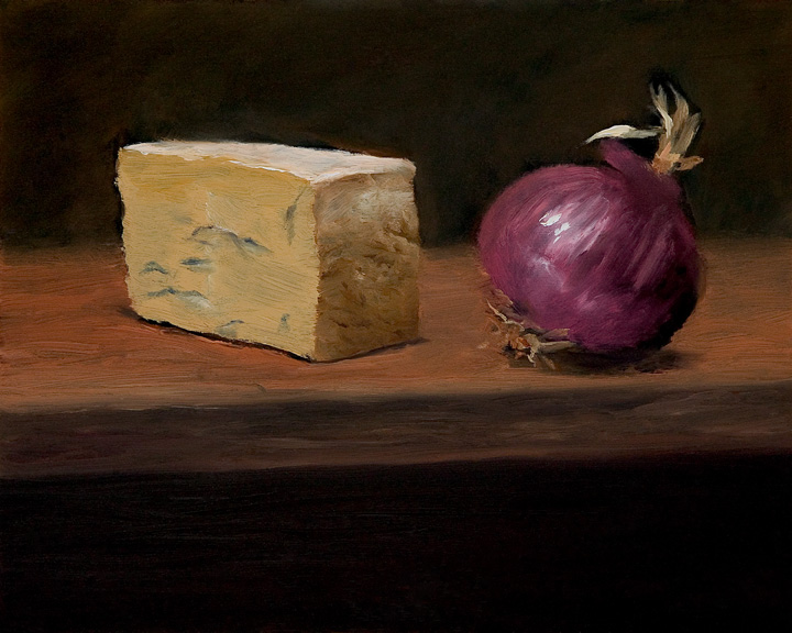 Cheese and Onion by Richard Barry