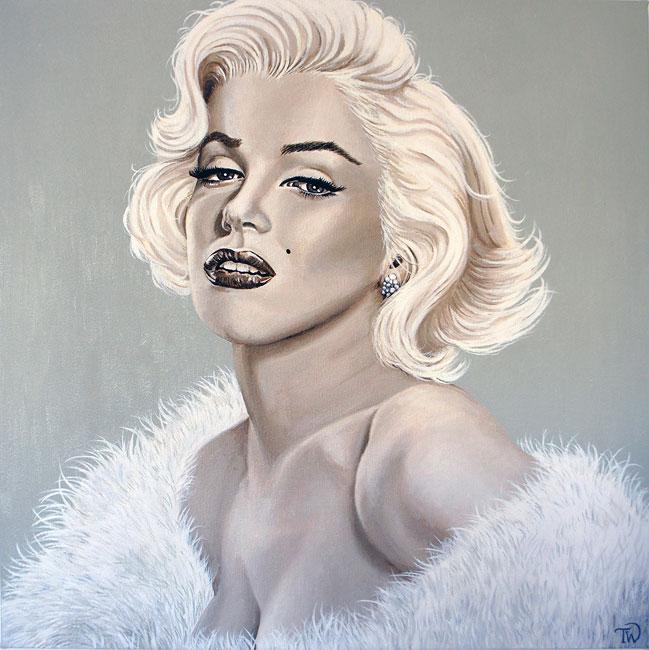 Marilyn Monroe by Teresa Witz