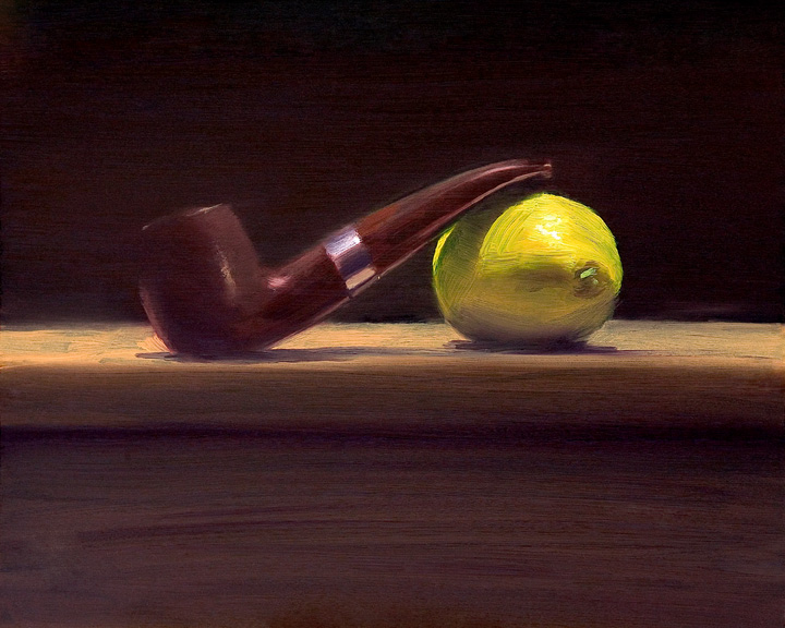 Pipe with Lemon by Richard Barry