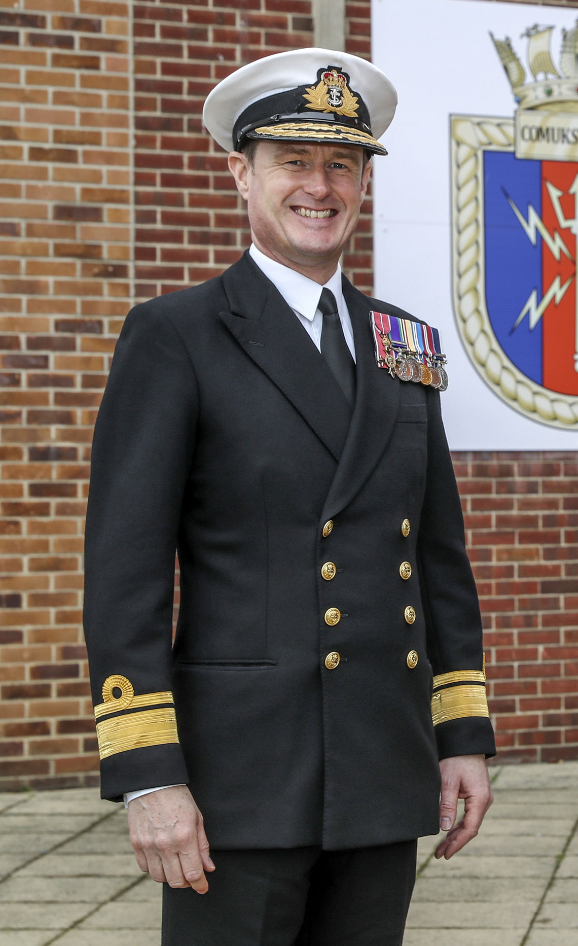 Rear Admiral Andy Burns