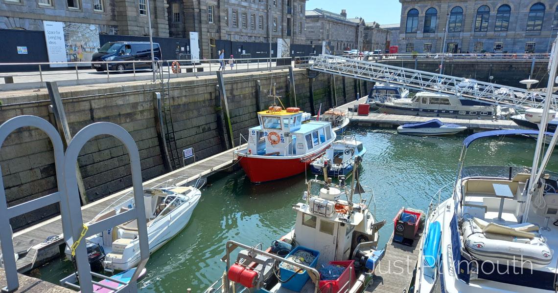 Cawsand Ferry Royal William Yard