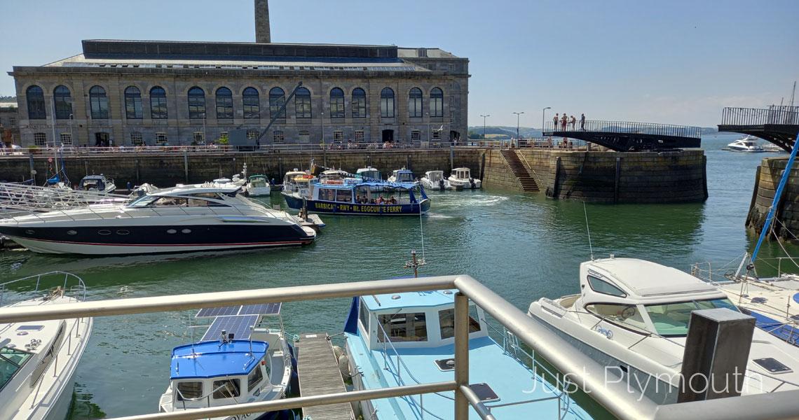 Barbican Royal William Yard Mount Edgcumbe Ferry