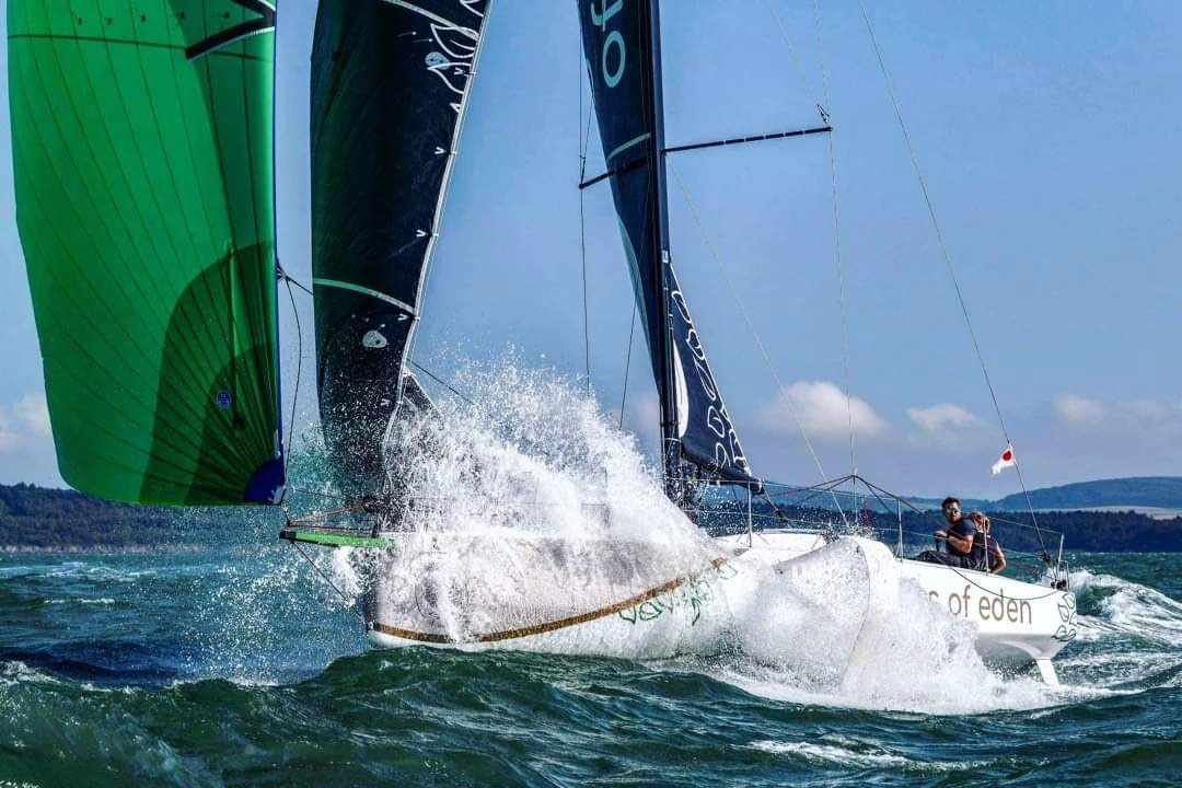 Cat Hunt and Hugh Brayshaw will compete doublehanded on Ross Farrow's Figaro 3 Stormwave 2.0 © James Tomlinson