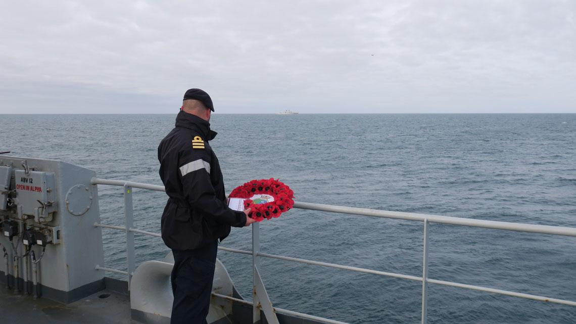 HMS Echo Commander Coles