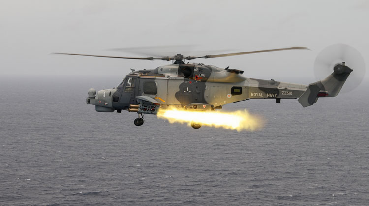Wildcat helicopter